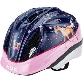 KED Meggy II Originals Casque Enfant, pferdefreunde